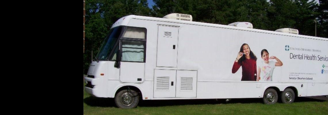 Columbia Memorial Hospital's Mobile Dental Van