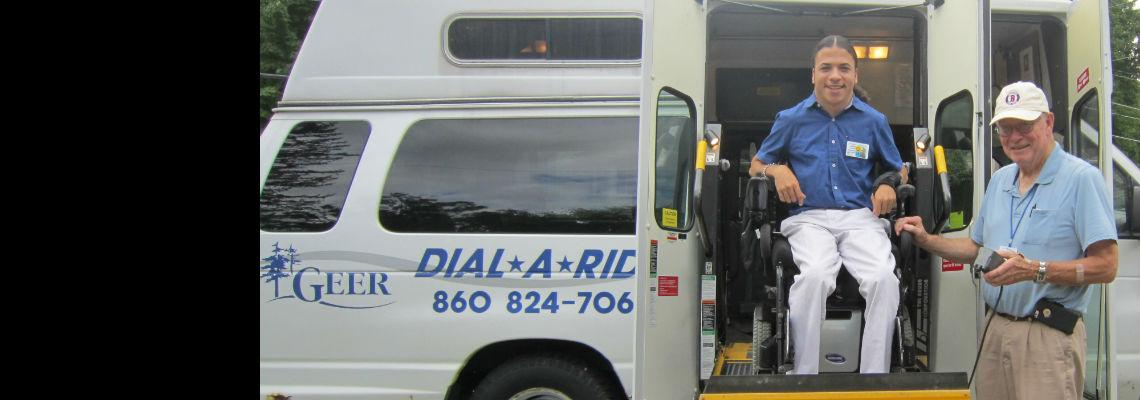 Geer's Dial-a-Ride Service: Client and Driver